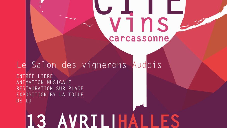 Salon CitéVins 2019 à Carcassonne .